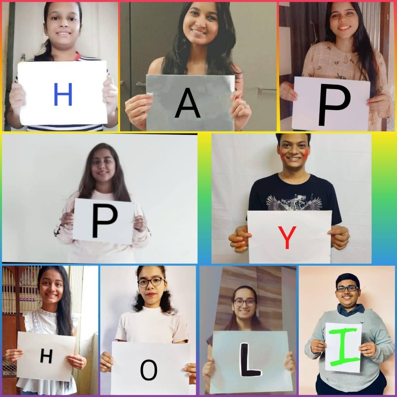 Virtual Holi Celebration
